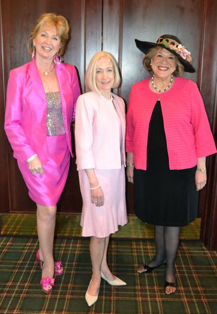 Gayla Thompson, Ginger Beebe, Debby Stanuch