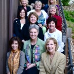 From top left: Kelly Horne, Kim Worlow, Karry Bass, Judy Marshall, Donna Powell, Brenda Allen, Ashley Hunter, Renee Bartholomae, Lucinda Blair, Martha Grant, Linda Howell, Margie Roelands, Estella Tullgren, Patty Shay, Deb Peterson, Stacy White, Karen Montgomery at Blue Lady Resort and Raimondo Family Winery.
