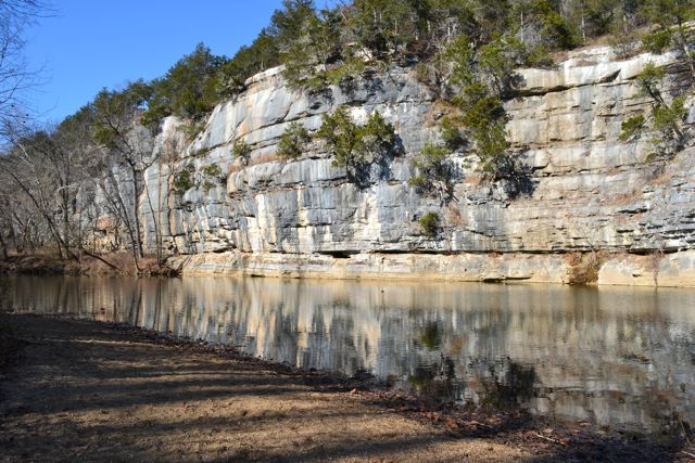 The Buffalo National River at Pruitt by Deb Peterson