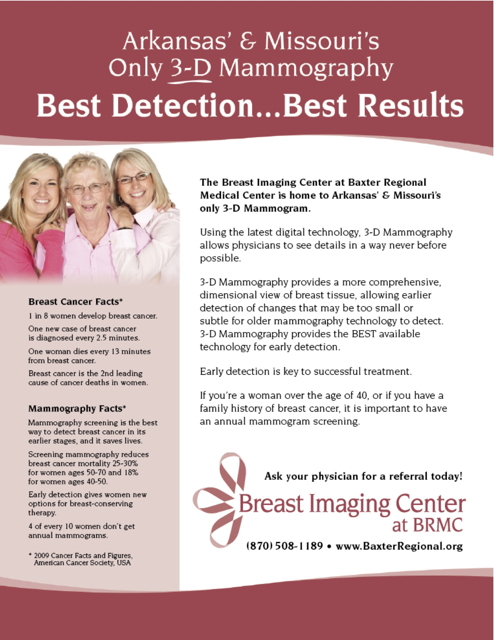 Breast Imaging Center at BRMC