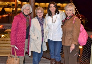 Janet, Christy, Susannah, and Celia at the Branson Belle