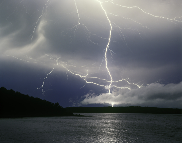 Electrical Storm Over Beaver Lake