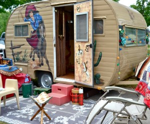 Linda Brede's Cowgirl Trailer