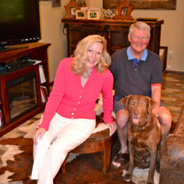 At Home with Jim and Caroline Carroll
