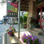 The shops in Hardy