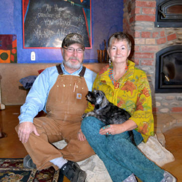Creating the Life They Want — The Dreamcatcher Earthship Home of Lynn and Bob Stokes