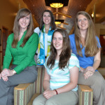 Amber Williamson, Ashley Little, Courtney Crawford, Sandy Norwick