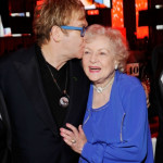Elton John with Betty White Wearing Da-Rue