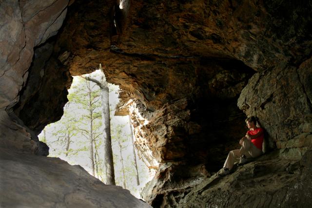 Jan at Pedestal Rock