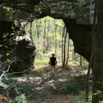 Arch on Pedestal Trail