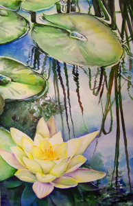 Watercolor by Beth Ivens