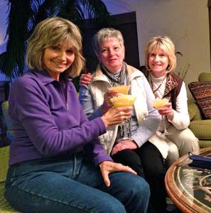 Jan Peitz, Sandy Olson, Brenda Bowers