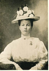 Cora Luna Grisham (1888-1977), a descendant of one of the county's earliest families