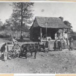 To Jan, the photo of the old Dutton Farm is worth more than 1,000 words in the story of Baxter County pioneers.