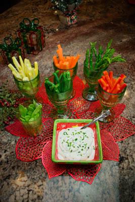 Tarragon Vegetable Dip