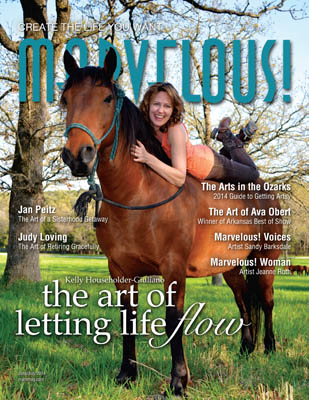 Kelly on the cover of Marvelous!
