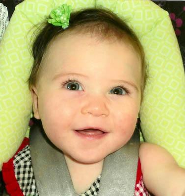 Lucinda's granddaughter Lilly Blair.