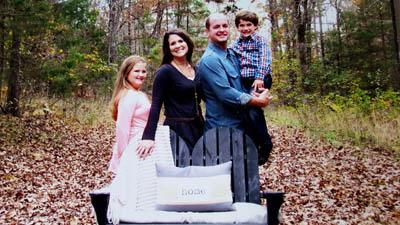 The Thornton Family — Madelyn , Amanda, Kenny and Eli.