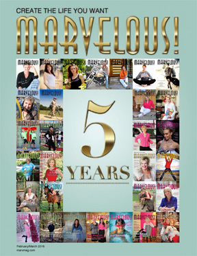 February/March 2016 Marvelous! 5th Anniversary Flipbook