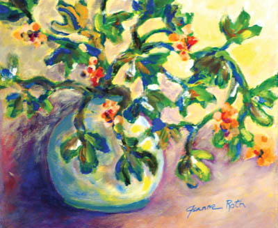 One of Jeanne's paintings.