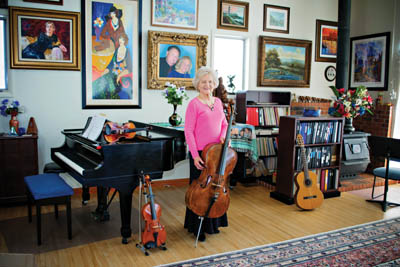 At Home With Betty Dykstra — The Music of Her Life