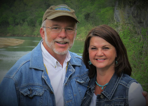 Bob and Carol King, owners of the Ozark Outlook Resort.