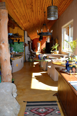 Creating The Life They Want Dreamcatcher Earthship Home Of